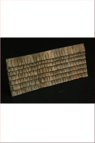Reality In Scale 1:35 54mm Roof Shingles 10x9cm - Diorama Accessory #GL106