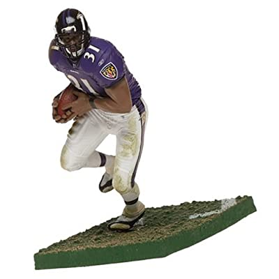 McFarlane Toys NFL Sports Picks Series 8 Action Figure Jamal Lewis (Baltimore Ravens) Purple Jersey: Toys & Games