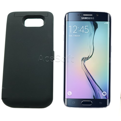 in stock d54f6 41193 Amazon.com: [Galaxy S6 Edge Battery Case] 6500mAh Slim Portable ...