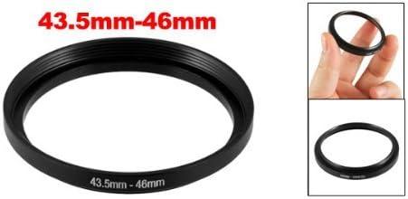 NA Camera Lens Step Up Filter Ring Adapter Adapter Plastic Black 43.5mm-46mm
