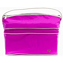 PurseN Stylist Bag Travel Toiletry Makeup Case Pink Bling