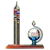 AcuRite 00795A2 Termómetro Galileo con barómetro de globo de vidrio
