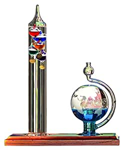 Amazon Com Acurite 00795a2 Galileo Thermometer With