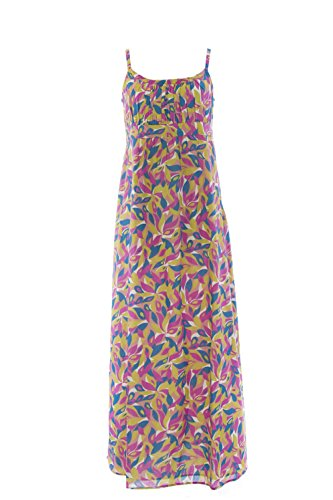 BODEN Women's Printed Maxi Dress, Pink Multicolor, US 12L from BODEN