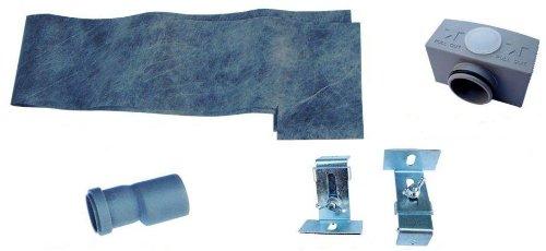 edelstahl duschrinne ablaufrinne bodenablauf siphon fr ebenerdige duschen 60 cm amazonde baumarkt - Ablaufrinne Dusche 60 Cm