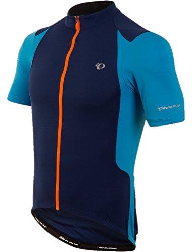 Pearl iZUMi Ride Men's Select Pursuit Jersey, Depths/Bel Air Blue, Small