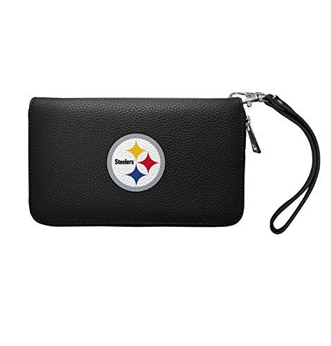 NFL Pittsburgh Steelers Zip Organizer Pebble Wallet