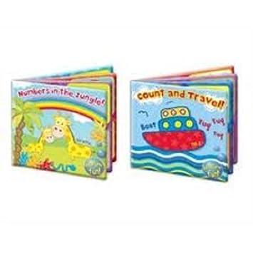 Tout Neuf Bain De Bebe Livre Recouvert De Plastique Amusant Educatif Toys Pour Enfants Compte Et Voyage