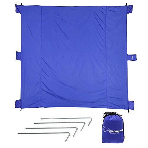 Outdoor Beach Blanket Pockets Parasheet