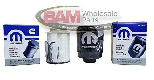 Dodge Ram 6.7 Liter Diesel Fuel Filter Water Separator Set Mopar OEM reviews