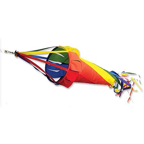 (Premier Kites 22501 Wind Garden Spinsock, Rainbow, 12-Inch)