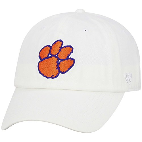 (Top of the World Clemson Tigers Men's Hat Icon, White,)