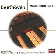 Beethoven: Piano Concerto No.4 Op.58 & No.5 O