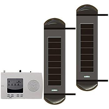Amazon Com Solar Powered Wireless Infrared 3 Beam Motion