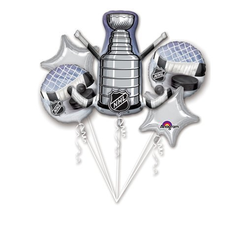 Anagram 31653 NHL Stanley Cup Hockey Balloon Bouquet Multicolored]()