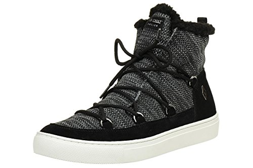 Multicolore 001 blk Street Black Skechers 73578 Side Donna Sneaker pYqRn8Zxw