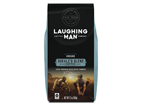 Laughing Man Coffee Dukale's Meld Ground Coffee 12oz, pack of 1