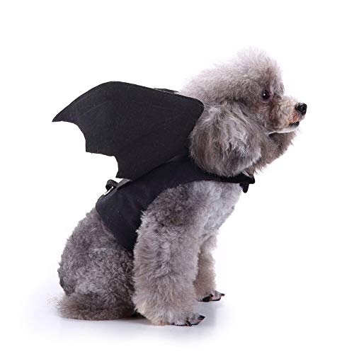 D-ModernPet Dog Costume - Dog Clothes Halloween Cat Rider Cosplay Costume for Small Dogs Funny Cat Suit Pet Clothing Chihuahua French Bulldog Xmas Outfit -