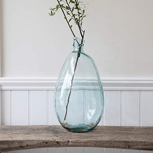 Garden Trading Wells Vase /à Bulles en Verre recycl/é