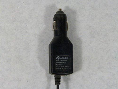 Kyocera TXCLA10003 CV90-B1687-01 Car Power Adapter 1200mA 12VDC / 4.2VDC
