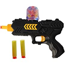 SUMK Shooting Gun Blasters Toy Pistol 2-in-1 Foam Dart and Water Beads Water Polymer Ball and function for Kids Tactical Children( 1 Pcs)
