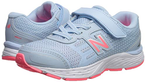 New Balance Girls' 680v5 Hook and Loop Running Shoe, air/Guava, 2 XW US Infant by New Balance (Image #6)