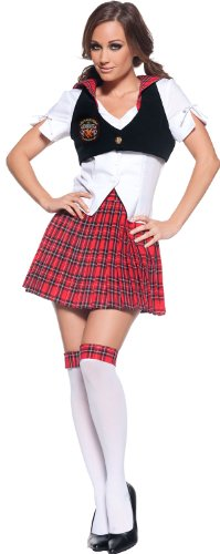 Women's Sexy Schoolgirl Costume - Reformed (School Teacher Costume)