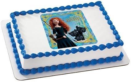 Disney Merida Princess Birthday Party Cake Toppers Topper