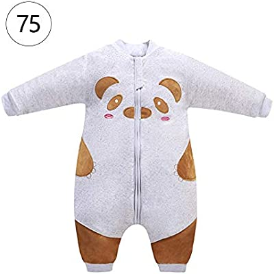 Biback Baby Saco de Dormir Saco de Dormir Mono de poliéster y algodón, cálida, Suave y cómodo y fácil para 1 – 3 AñOS Niños