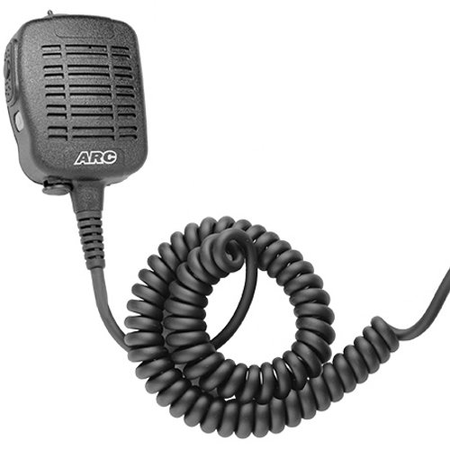ARC S51019 Heavy Duty Anti-Magnetic Speaker Shoulder Microphone for Relm (BK Radio) KNG Series Two Way Radios by ARC