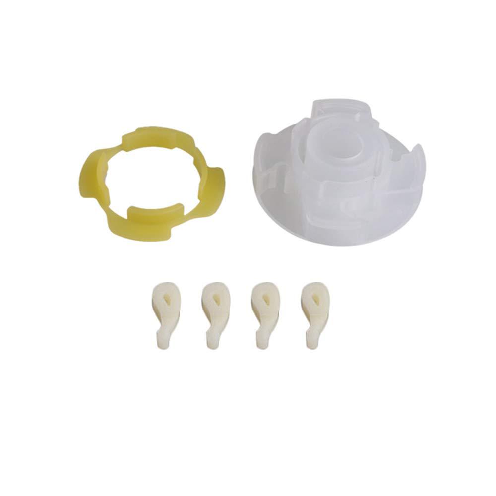 BQLZR 285809 Kit de agitador de lavadora de plástico blanco de 7,1 ...