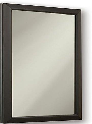 Jensen 625N244BZCLX Locking Bronze Frame Medicine Cabinet, 15.75 x 25.5