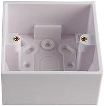 1 G 42 mm superficie caja eléctrica trasera cajas/cajas de montaje ...