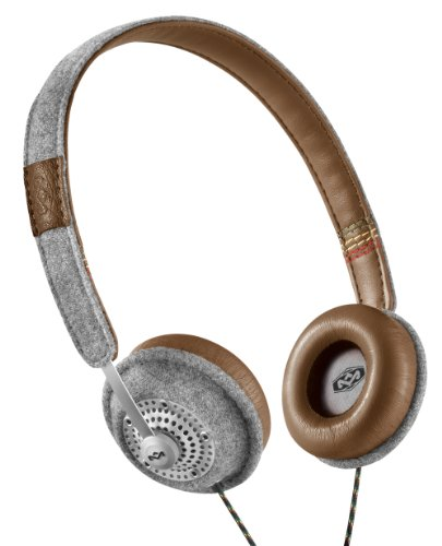 House of Marley EM-JH041-SD Harambe Saddle On-Ear Headphones EM-JH041-SD