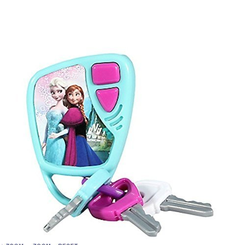 Disney Frozen Keys Set Kids Pretend Play Toy Key Ring Anna Elsa W Sound (Keys Kids)