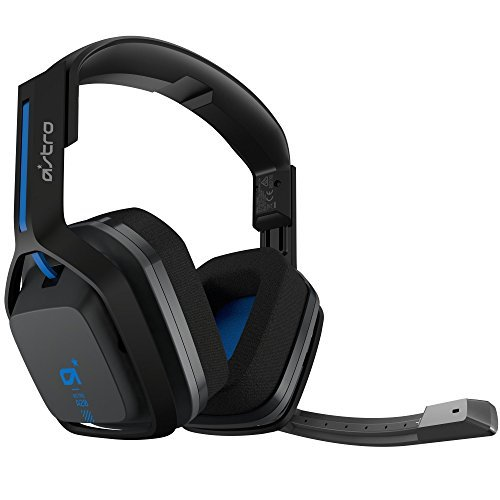Logitech Astro A20 Wireless Headset Black/Blue - Playstation 4/PC/MAC (Certified Refurbished)