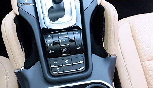 RED Fit for Porsche Cayenne 2011-2017 Interior Car Center Console Seat Side Storage Box Holder Organizer