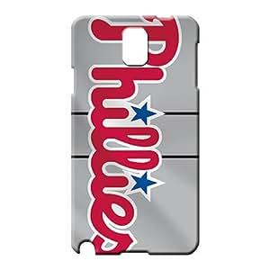 samsung note 3 High High-end stylish mobile phone carrying skins philadelphia phillies mlb baseball