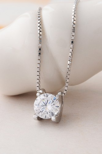 Thai Love Your Unique Flash Diamond Necklace Pendant Women Girls Short Clavicle Chain s925 Silver Accessories Women Gift Gift by PAGIPEN