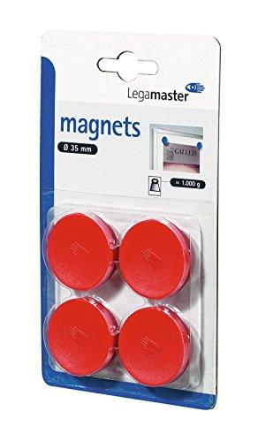 Legamaster Haftmagnete C und C Blister gr/ün 35 mm circa 1000 g