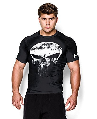 Under Armour Alter Ego Punisher Compression Shirt Black