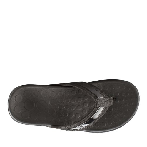 Vionic Sandals Women's Black with 9 Tide EU UK US 40 Orthaheel 7 XZXdrxnaqw