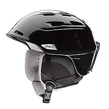 Smith Women's Compass Ski Snow Helmet Black Pearl E00660 Small