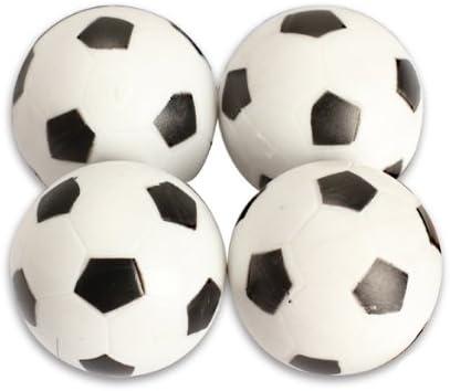 Tenflyer cuatro 4mm fútbol de mesa plástico futbolín: Amazon.es: Deportes y aire libre
