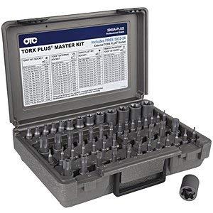 OTC Tools & Equipment 53 PC MSTR TORX BIT SOCKETS (OTC-5900A-PLUS)