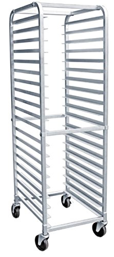 AmGood Commercial Kitchen Pan Rack - Heavy Duty, Bun Pan Sheet Rack, NSF Certified with Wheels (20 Tier Pan Rack) by AmGood
