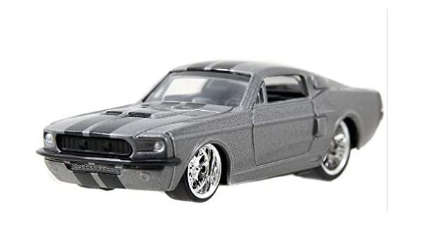 Amazon Com Jada Bigtime Muscle 1 64 67 Shelby Gt500 Silver With