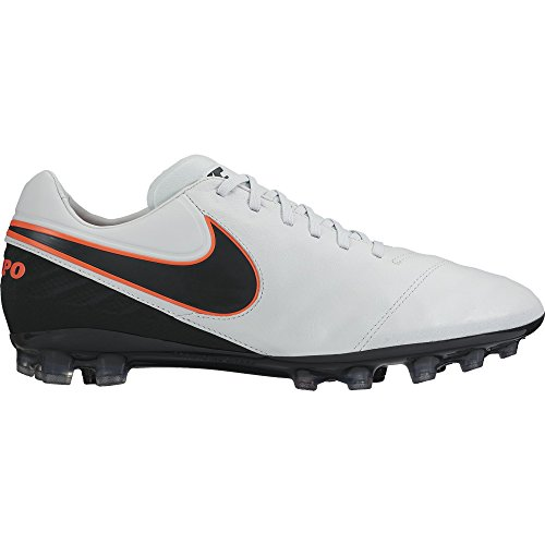II R Black Men Black s NIKE football Legacy Tiempo Platinum Pure hypr Orng boots AG White Orange qY4Iqx6w