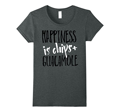 Happiness Is Chips And Guacamole Graphic T-Shirt