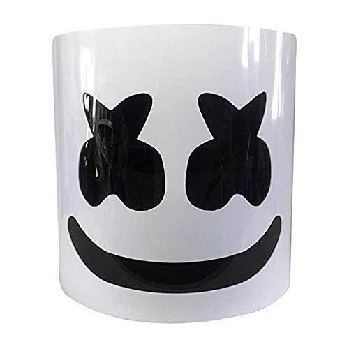 Wttfc Marshmallow Helmet Mask, DJ Music Festival Mask ...